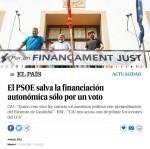 """El PP recuerda al PSPV-PSOE """"que el injusto sistema de financiación fue aprobado por los socialistas"""""""