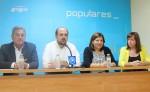 Los afiliados del PP de Vinaròs eligen a Luis Gandía como presidente y a Carla Miralles como secretaria general