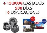 El tripartito bloquea desde hace 500 días la comisión de investigación sobre los gastos de sus viajes al extranjero