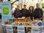 Nuevas Generaciones logra recoger más de 200 kilos de alimentos en una sola mañana
