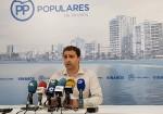 El PP exige un pleno extraordinario para crear una comisión de investigación por la paralización de las multas a familiares de la concejal de Hacienda
