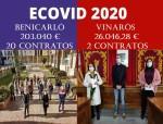 Vinaròs solo contrata a 2 personas con una subvención de la Generalitat mientras Benicarló contrata a 20 personas