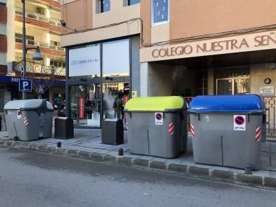 Los contenedores soterrados vuelven a estar averiados desde hace más de dos semanas